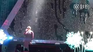 20180105  明日之子重庆站巡回演唱会毛不易《像我这样的人》《借》《203》《消愁》cut