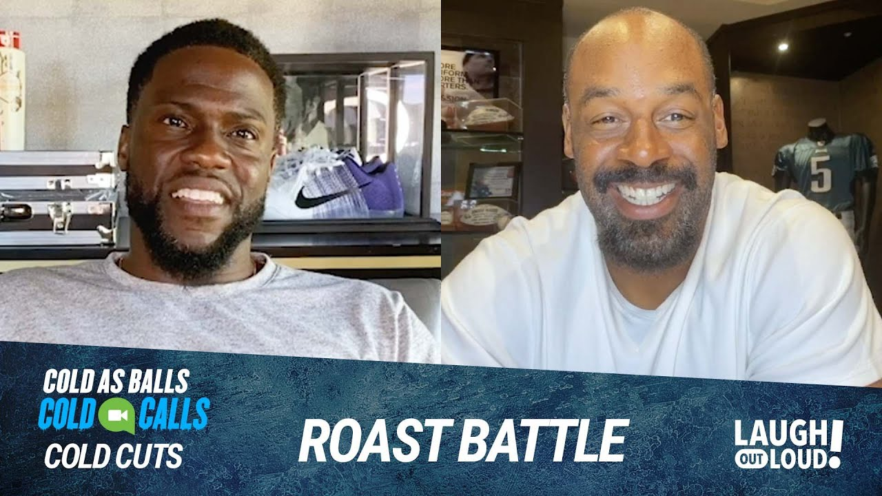 Donovan McNabb and Kevin Hart Trade Roasts