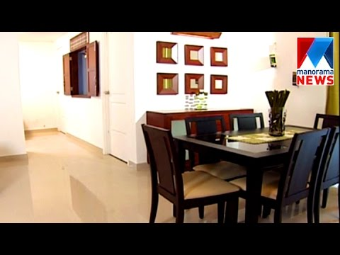 Low cost interior flat veedu old episode manorama news youtube - Tavoli design low cost ...