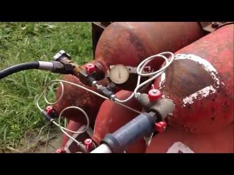 Установка для сжижения природного газа в домашних условиях