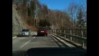 Autofahrt von Brünig nach Hasliberg Goldern
