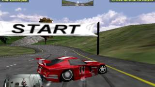 Viper Racing (1998) Gameplay 2016