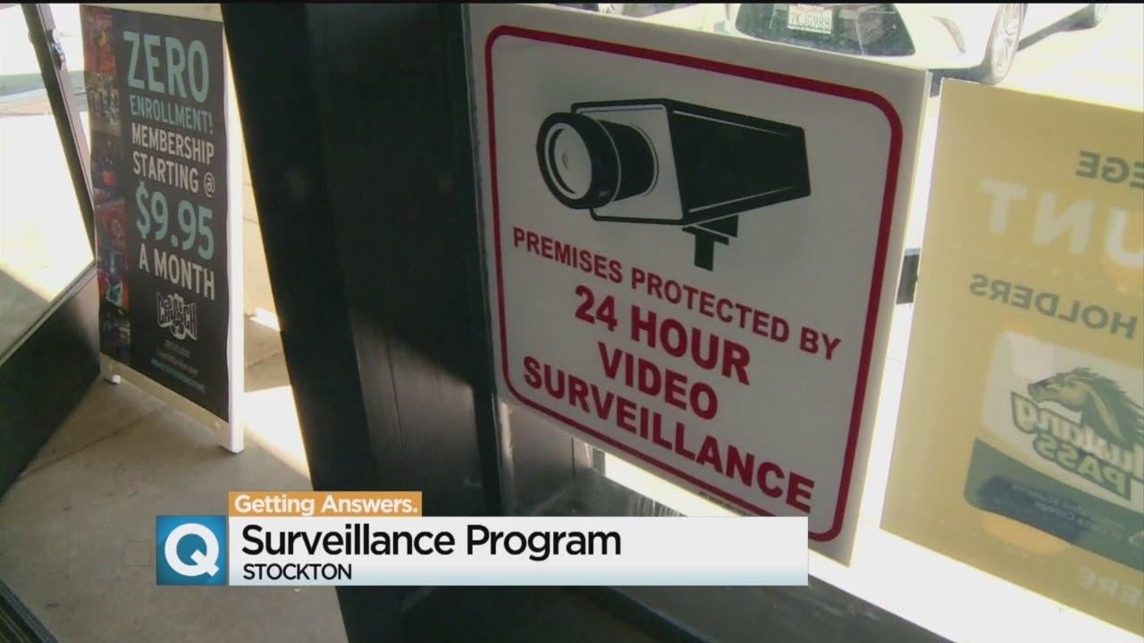 Stockton Surveillance Program Helps Links Businesses, Homes To Cops