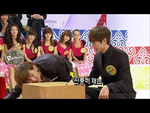 【TVPP】Onew(SHINee) - Alkkagi Match Final with Eunhyuk, 온유(샤이니) - 은혁과 알까기 명승부 결승전 @ Section TV