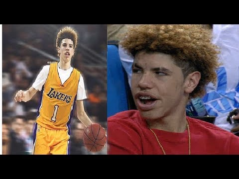 NEW LaMelo Ball FUNNY MOMENTS! 2017!