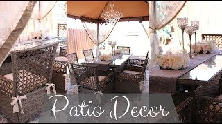 NEW!!! ✨🏡 DECORATE WITH ME 2019 - SPRING/SUMMER PATIO DECOR 🏡✨