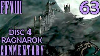 Final Fantasy VIII Walkthrough Part 63 - Ultimecia Castle Arrival & Getting Ragnarok In Disc 4