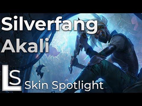 Silverfang Akali - Skin Spotlight - League of Legends