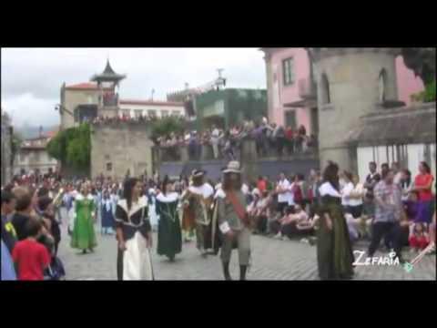 Participação das freguesias de Rendufe e Labrujó no Cortejo Histórico das Feiras Novas 2011
