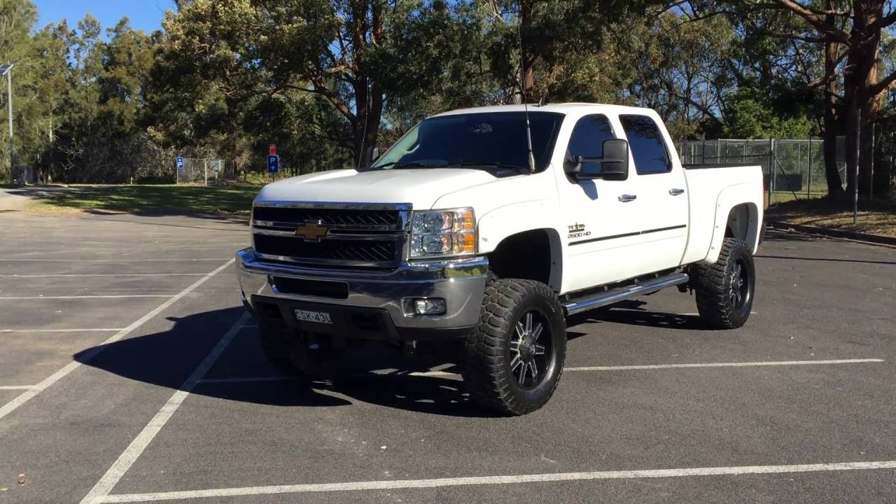2012 2500hd silverado texas edition for sale carsales cognito lift youtube. Black Bedroom Furniture Sets. Home Design Ideas
