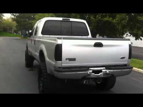 LIFTED 2000 FORD F250 CREW CAB POWERSTROKE 7.3L FOR SALE UTAH