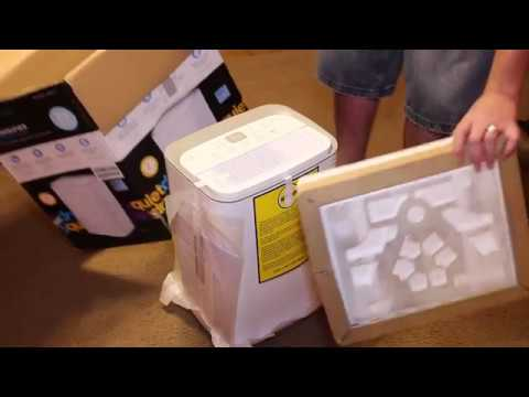 Hisense 35-Pint 2-Speed Dehumidifier Unboxing
