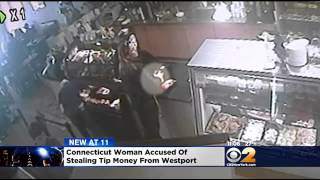 Police: Conn. Woman Stole From Tip Jar At Westport Restaurant