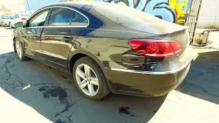 2014 VW Passat CC. Страховой аукцион Копарт (copart.com). Авто из США в Украину. Точные цены