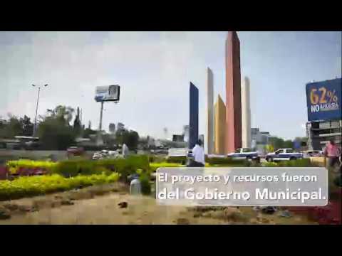 Rehabilitan e iluminan las Torres de Satélite en Naucalpan
