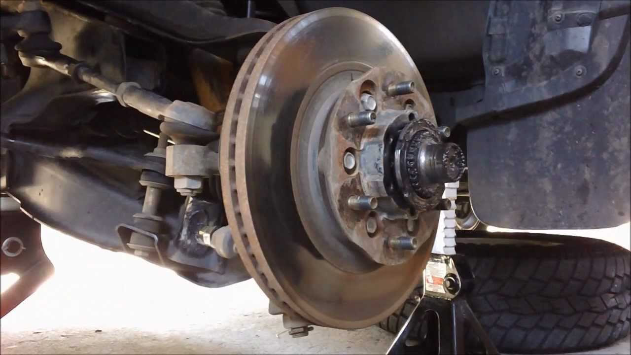 How to remove  repack  install wheel breaings on Nissan