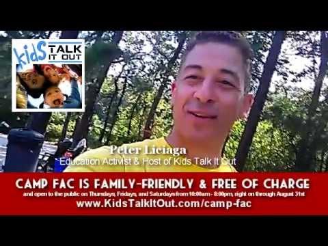 Peter Liciaga and Family @ CampFAC in Medford NJ