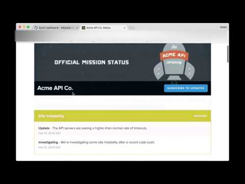 StatusPage.io integration for Atlassian Server products