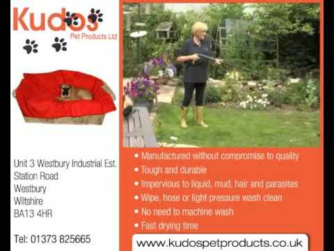 Easy Dog bed cleaning with Kudos - YouTube