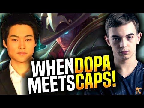 When Dopa Meets Caps in Korea SoloQ?