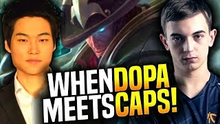 When Dopa Meets Caps in Korea SoloQ? - Dopa Twisted Fate vs Caps Ryze! | Be Challenger