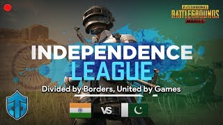 INDIA VS PAK FRIENDLY PUBGM! | Independence League by Entity Gaming