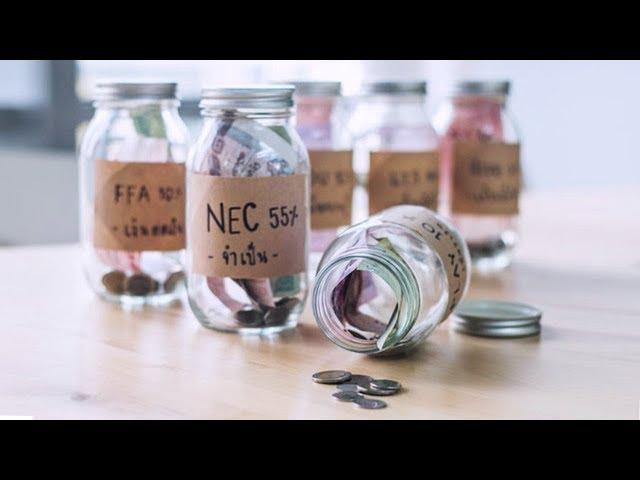 Aprende a administrar tu dinero (sistema 6 jarrones)