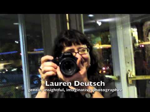 Lauren shoots!