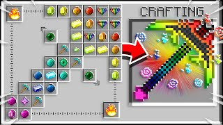 How to Craft a $1,000,000 GOD Pickaxe! - Mine¢raft 1.15 Crafting Recipe