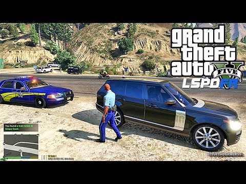 GTA 5 LSPDFR 0.3.1 - EPiSODE 85 - LET'S BE COPS - STATE TROO