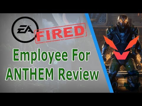 EA FIRES Employee Over NEGATIVE Anthem Review! (Game Changers Review Blocked)