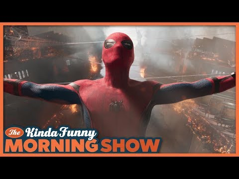 Tom Holland Reveals New Villain in Spider-man: Far From Home - The Kinda Funny Morning Show 08.15.18