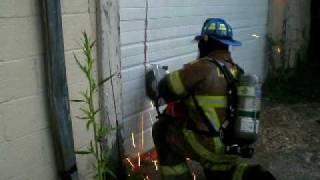 Church Hill Lumber Fire (c.v.f.d)