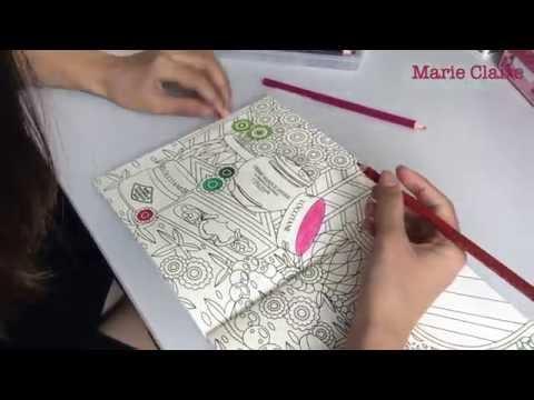 Marie Claire X L'Occitane Editorial Team Colouring