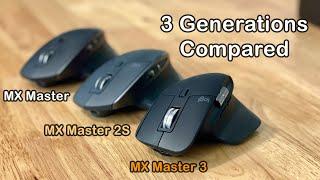 MX Master 3 Unboxing & Comparison Review