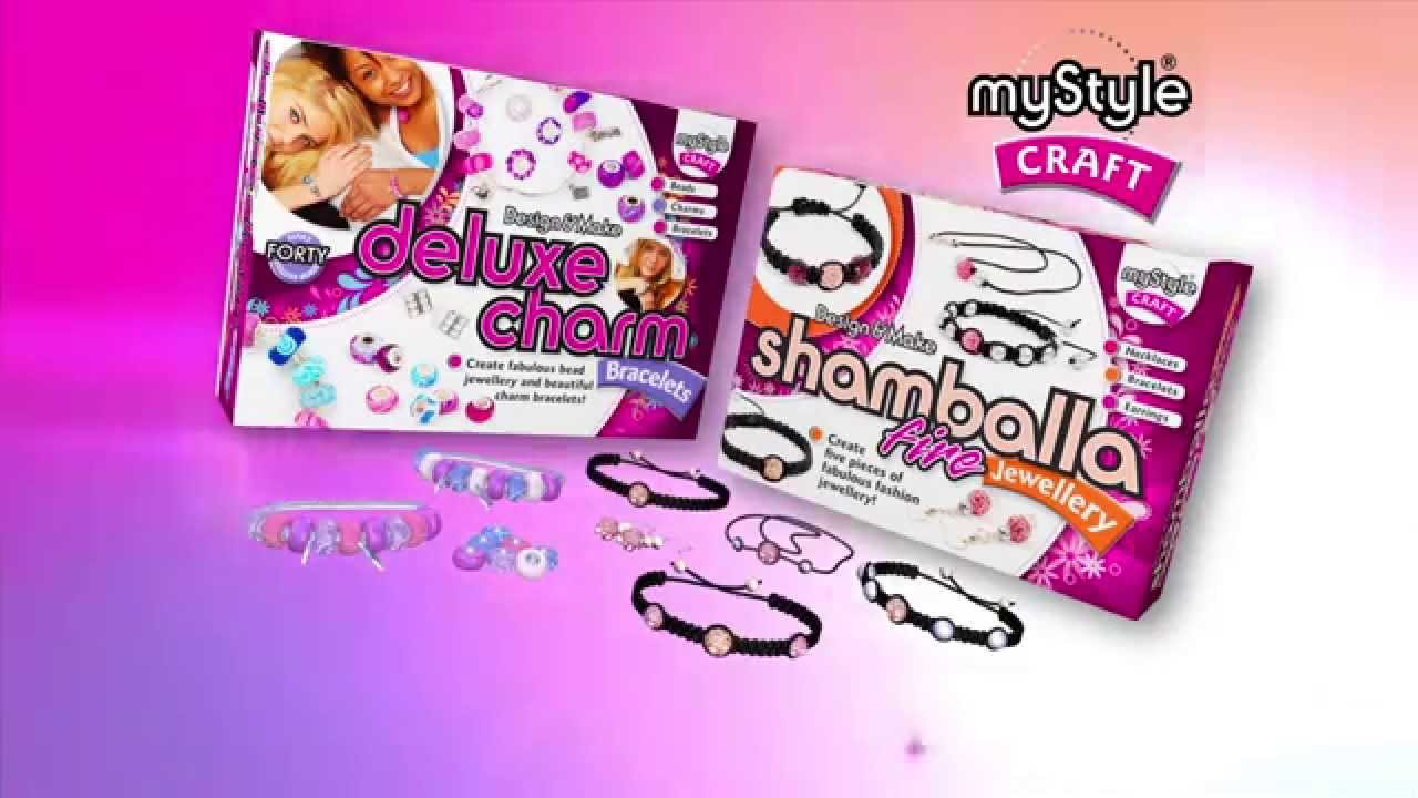 Smyths Toys  Deluxe Charm Bracelets & Shamballa Fire Jewellery
