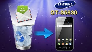 Recover Galaxy ACE: How to Recover Deleted SMS Text Messages on Samsung Galaxy Ace (GT S5830)?