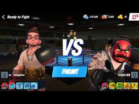 Boxing Star Gameplay: Boss YOSHIKI, Hard Boss
