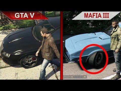 THE BIG GTA V vs. MAFIA III SBS COMPARISON 2   PC   ULTRA