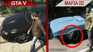 THE BIG GTA V vs. MAFIA III SBS COMPARISON 2 | PC | ULTRA