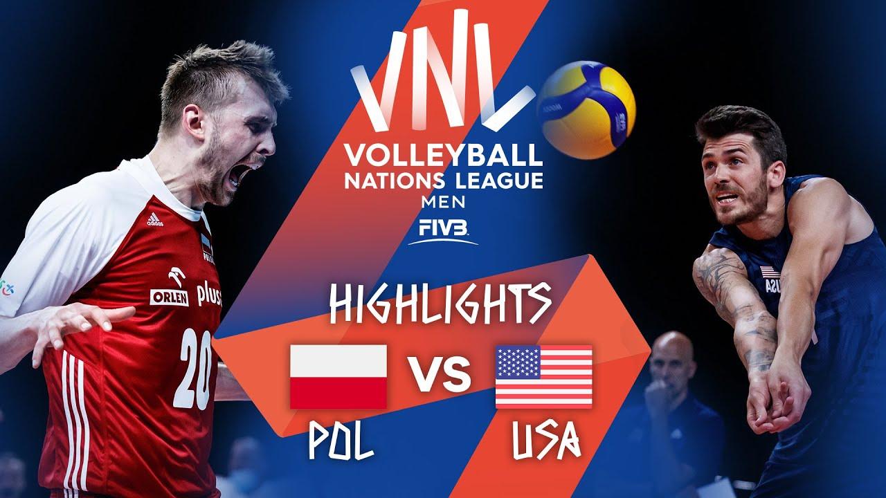 Download POL vs. USA - Highlights Week 2   Men's VNL 2021