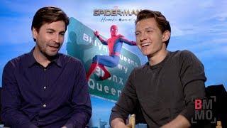 Tom Holland & Jon Watts Interview - Spider-Man: Homecoming