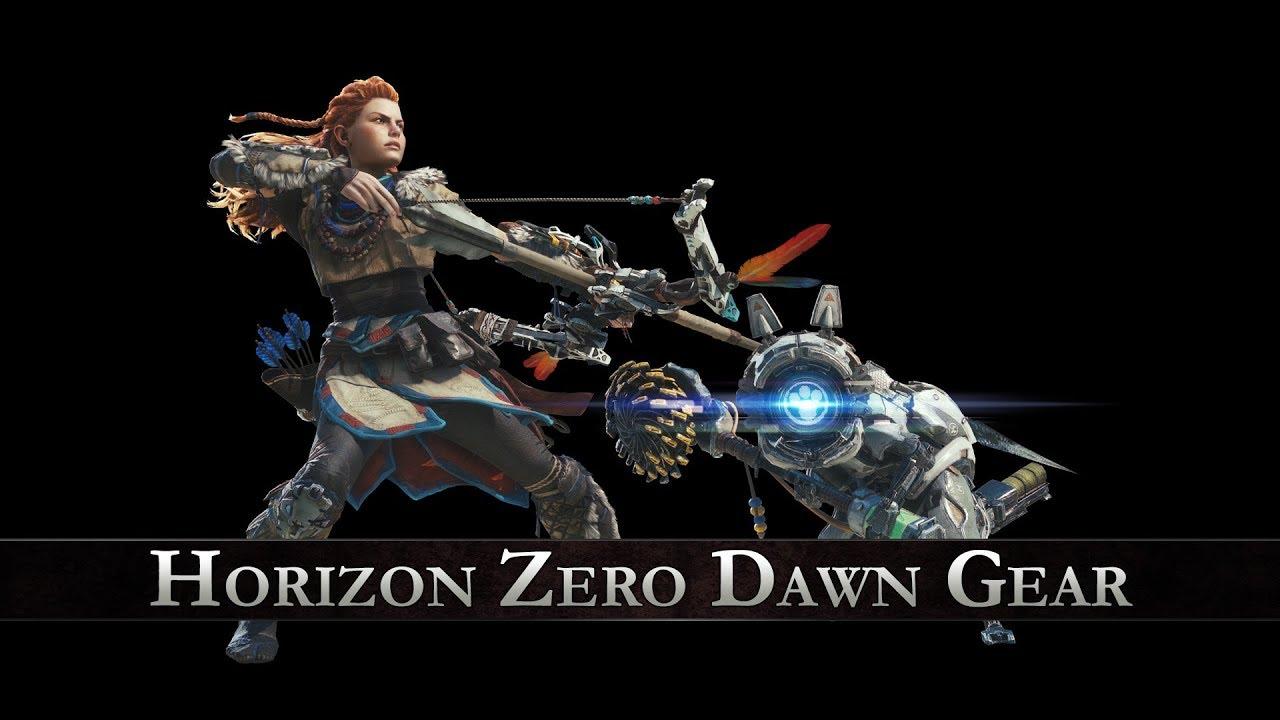 Monster Hunter World Horizon Zero Dawn Gear - Hot to get