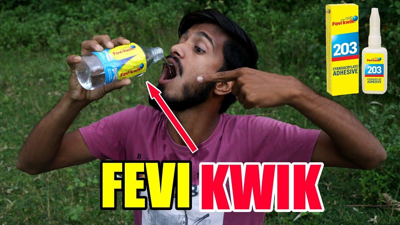 FEVI KWIK को खाने से क्या होगा   MOST AMAZING EXPERIMENT