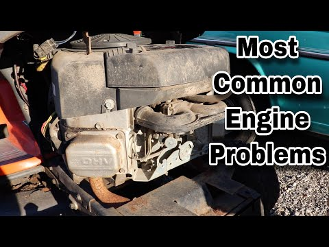 Most Common Riding Mower Engines And Their Most Common Problems