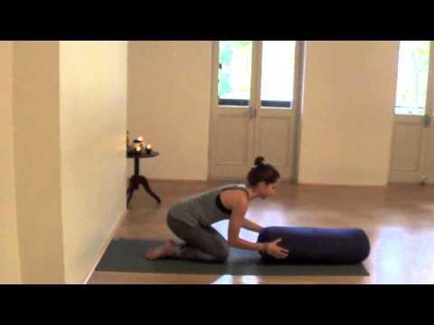 restorative yoga sequence  youtube