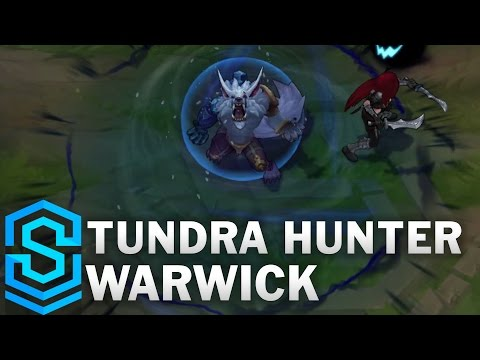 Tundra Hunter Warwick (2017 Rework) Skin Spotlight - Pre-Release - League of Legends