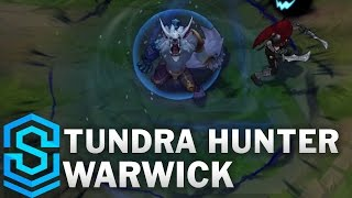 Tundra Hunter Warwick (2017 Rework) Skin Spotlight - Pre-Release - League of Legends
