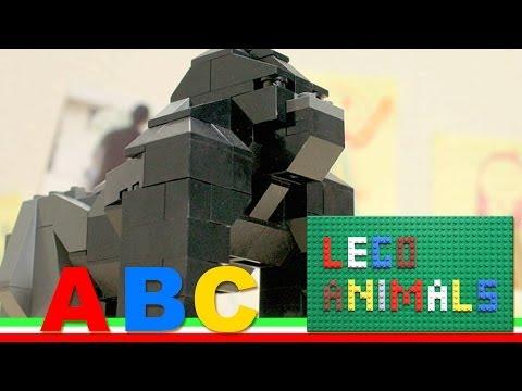 "LEGO ANIMALS ""ABC""  stop motion animation"