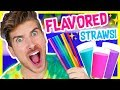 TESTING MAGICAL FLAVOR CHANGING STRAWS!